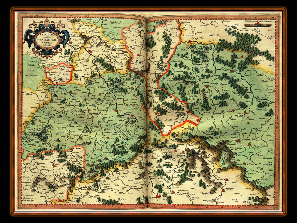 """Gerhard Mercator 1595 World Atlas - Cosmographicae"" - Wallpaper No. 30 of 106. Right click for saving options."