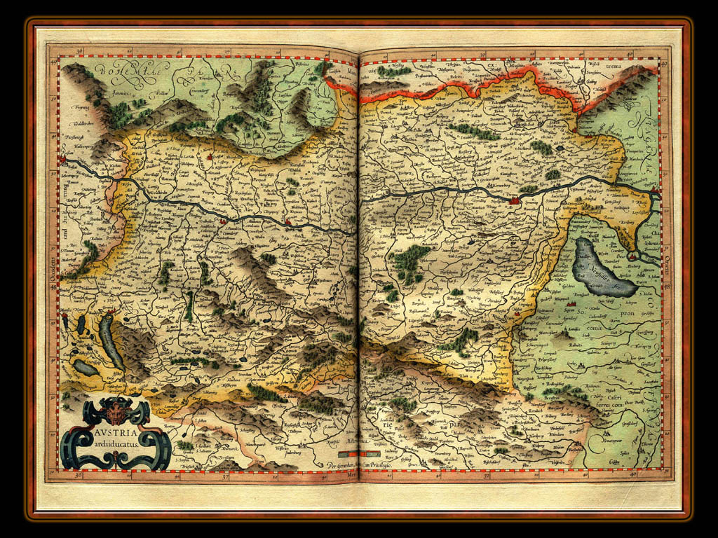 """Gerhard Mercator 1595 World Atlas - Cosmographicae"" - Wallpaper No. 26 of 106. Right click for saving options."