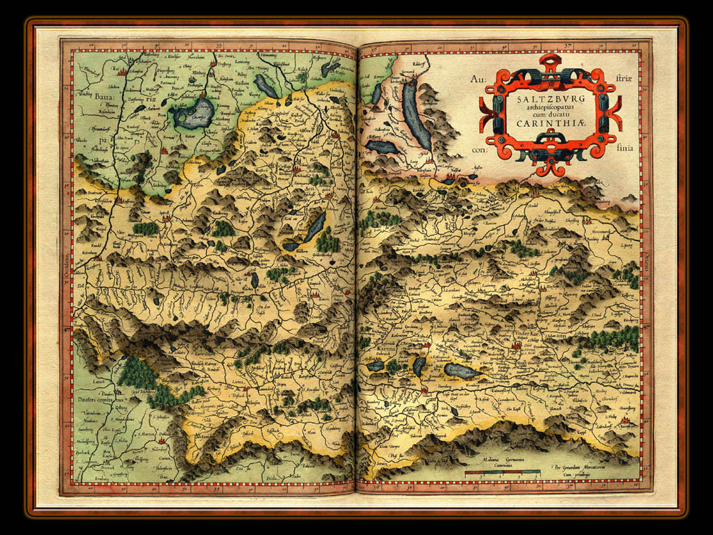 """Gerhard Mercator 1595 World Atlas - Cosmographicae"" - Wallpaper No. 25 of 106. Right click for saving options."