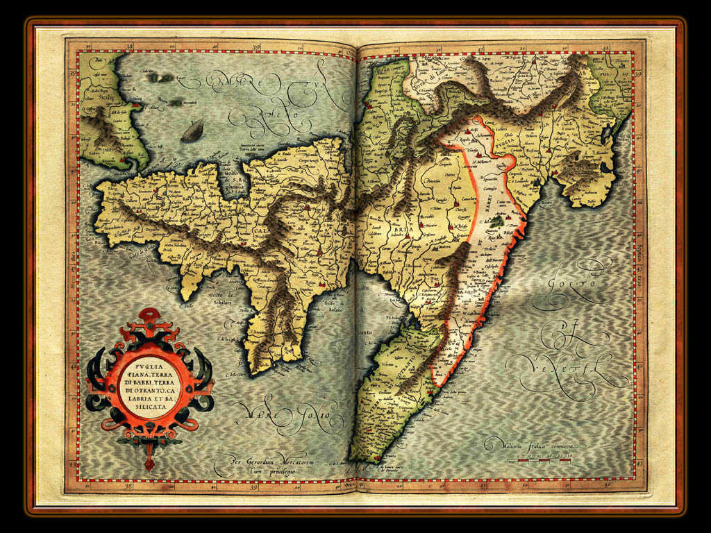 """Gerhard Mercator 1595 World Atlas - Cosmographicae"" - Wallpaper No. 10 of 106. Right click for saving options."