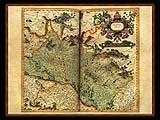 """Gerhard Mercator 1595 World Atlas - Cosmographicae"" - Wallpaper No.39.  Click for 640x480 or select another size."