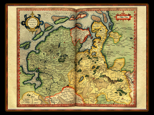 """Gerhard Mercator 1595 World Atlas - Cosmographicae"" - Wallpaper No. 46 of 106. Right click for saving options."