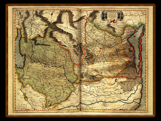 """Gerhard Mercator 1595 World Atlas - Cosmographicae"" - Wallpaper No. 16 of 106. Right click for saving options."